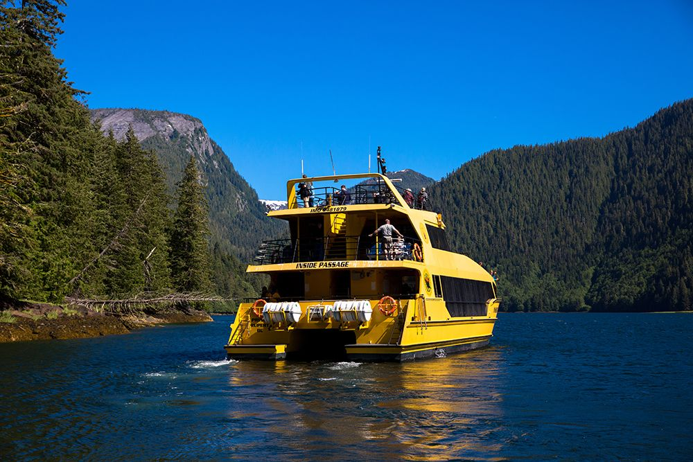 Cruising the Inside Passage, credit Tourism Prince Rupert