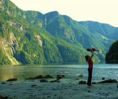 Inexpressible delight in Princess Louisa Inlet, credit BC Parks