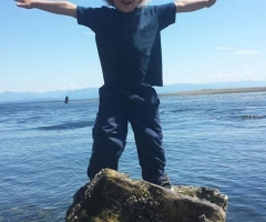 Boy on Barnacles - credit Alana Millward