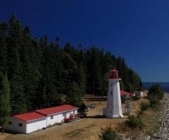 Cape Mudge Lighthouse Quadra Island