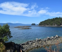 Pender Harbour Harness Island anchorage