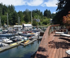 Pender Harbour Sunshine Coast Resort Marina