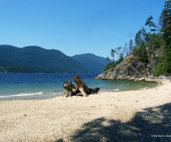 Sechelt Inlet 9 Mile Point