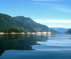 Sechelt Inlet Kunechin Point