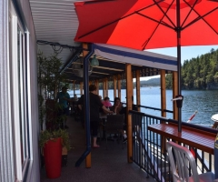 Secret Cove Marina Upper Deck Cafe