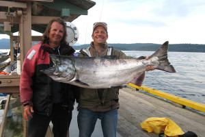 nice catch at Shearwater Resort