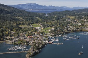 Moorings at Ganges, Salt Spring Island, credit John Cameron