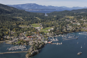 Ganges Harbour, Salt Spring Island, Gulf Islands, credit John Cameron