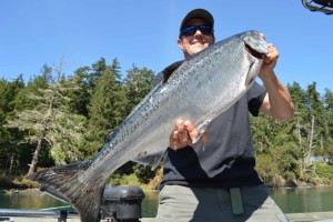 salmon fishing BC coast