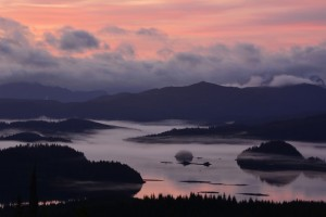 "The ""Misty Isles"" of Haida Gwaii, credit Mary Lou Von Niessen"