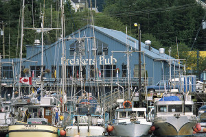 Prince Rupert hospitality is at your dock, credit Destination BC/JF Bergeron