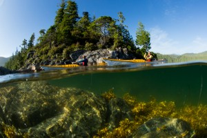 Kayaking in Broken Islands, credit Jeremy Koreski