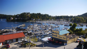 Moorage at Gibsons Landing