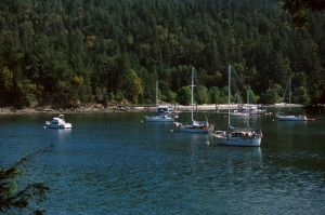Montaque Provincial Part, Galiano Island, credit BC Parks