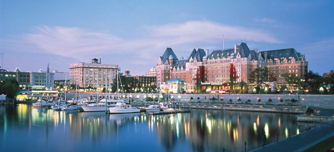 The Fairmont Empress Hotel, credit The Fairmont Empress Hotel