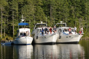 boat charters on BC Coast on ahoybc