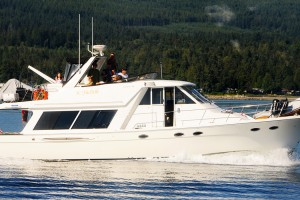 cruising British Columbia coast