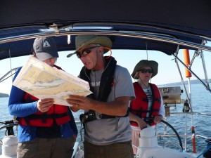 sailing lessons on ahoybc.com