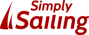 Simply sailing Red Logo
