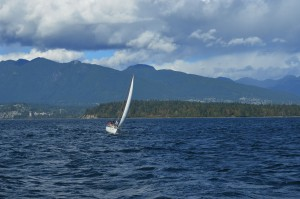 sailing training on BC coast on ahoybc