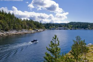 entrance to Pender Harbour