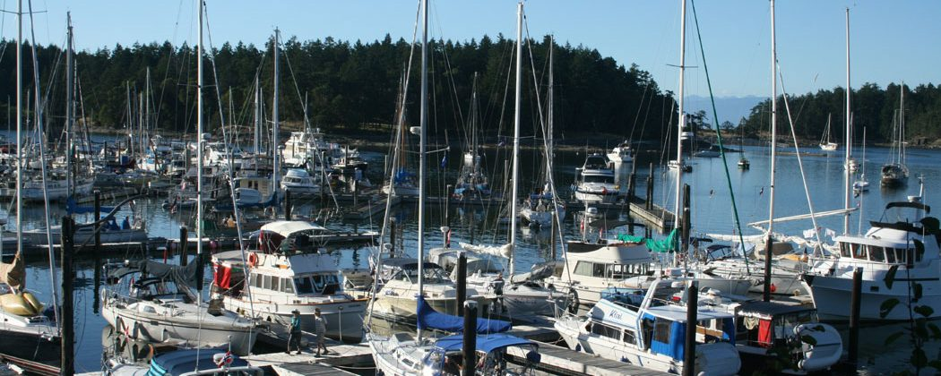 Page's Resort and Marina, Gabriola Island